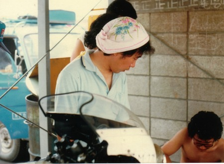 '81年筑波サーキットテスト走行1