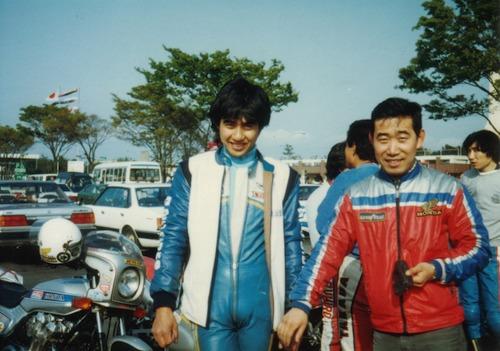 '85年チームメイトの清水哲夫