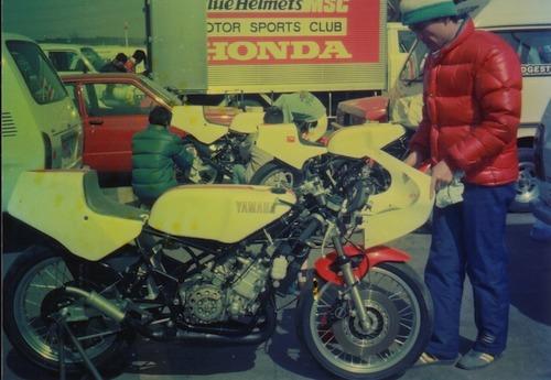 '83年新車のTZ250