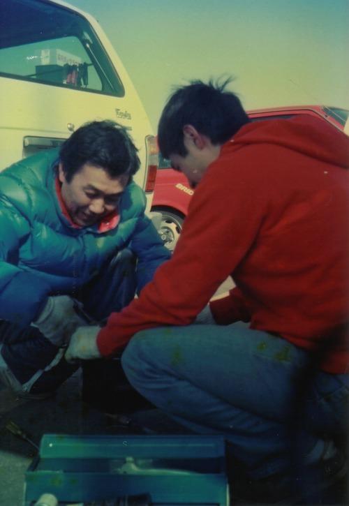 '83年戸津さんと横山君