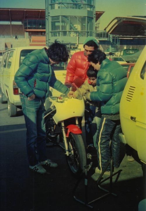 '83年新車のTZ談義