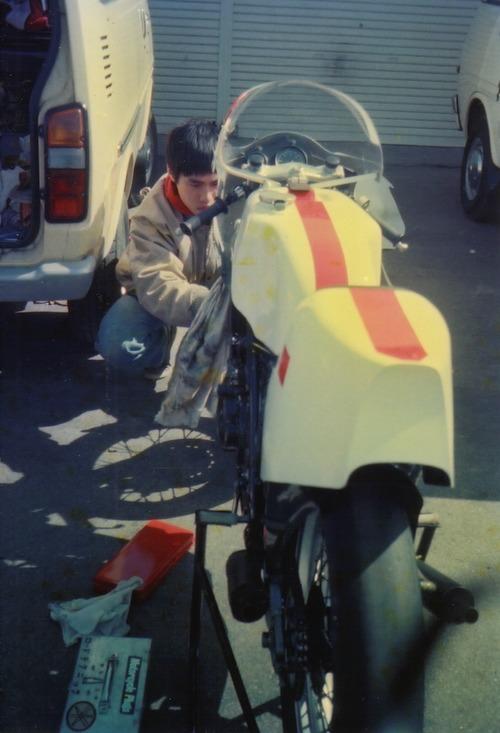 '83年横山君の新車TZ250