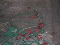 夏秋草図4