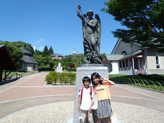 P7130546聖ミカエル像