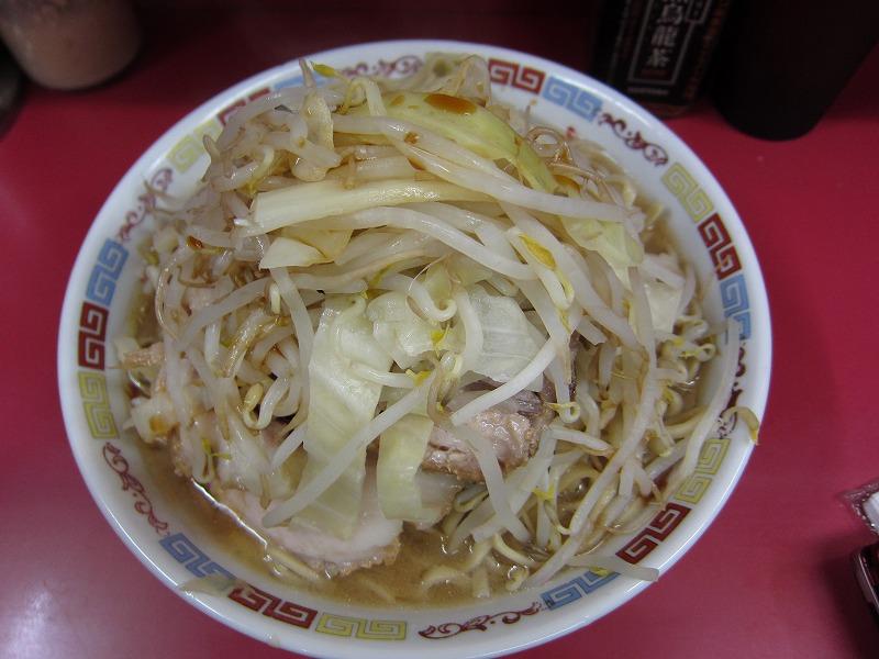 大 豚  麺カタメ  ヤサイマシ  カラメ