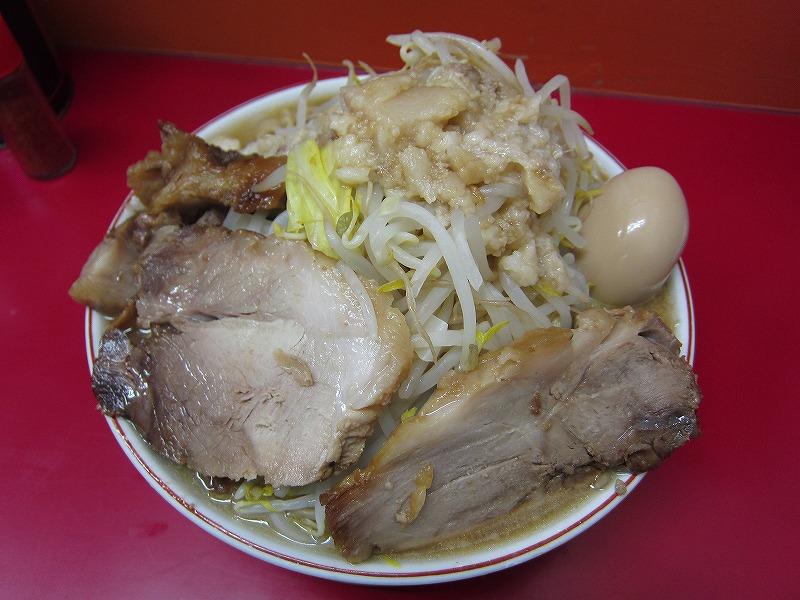 大 麺増し 600g 麺カタメ ヤサイちょい増し アブラ カラメ
