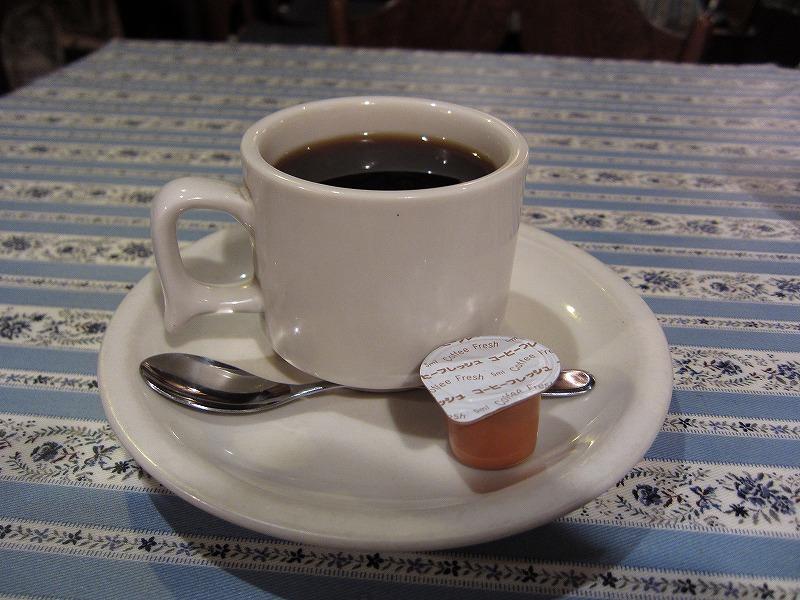 食後のコーヒー(サービス)