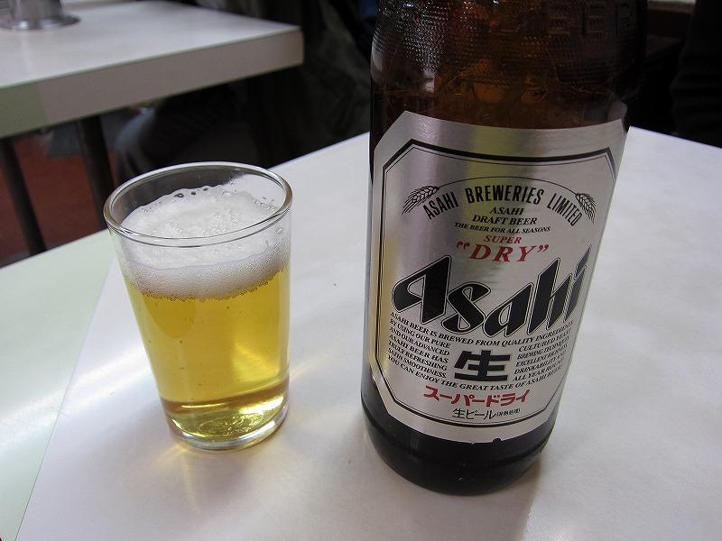 ビール  ¥630
