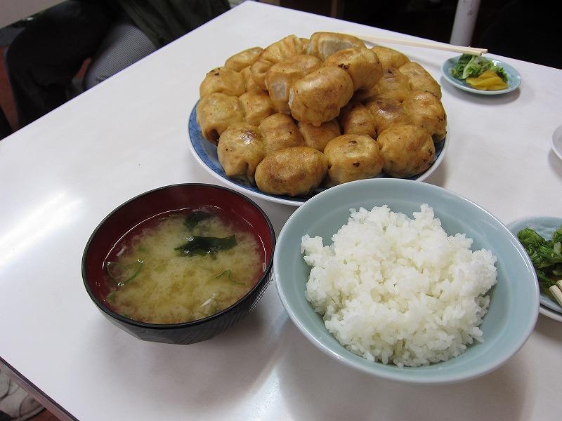 餃子15コ定食 餃子35コ ¥960 + ¥1470