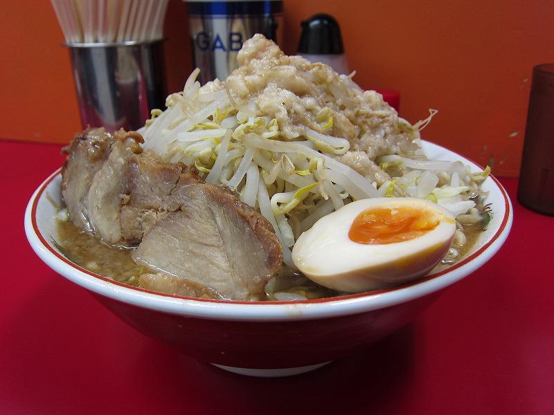 大 麺増し500g 麺カタメ   ¥800