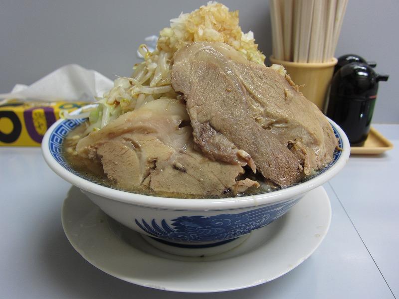 醤油ふじ麺 大盛り  ¥800