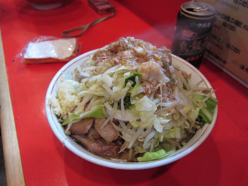 ブンさんの ラーメン 麺少なめ ニンニク少なめ ヤサイ アブラ ¥600