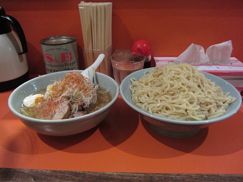 つけ麺 大盛り  ¥800 + ¥100