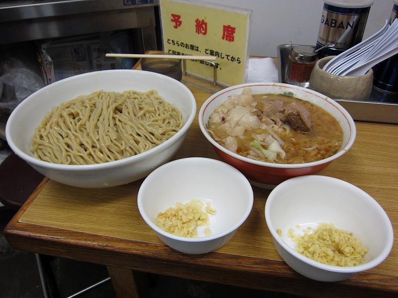 大 つけ麺 しょうが 麺ちょい増し  ¥950 + ¥50 + ¥100以上