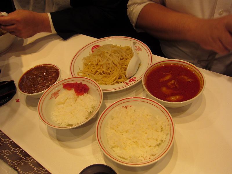 ヒヤミとインド定食