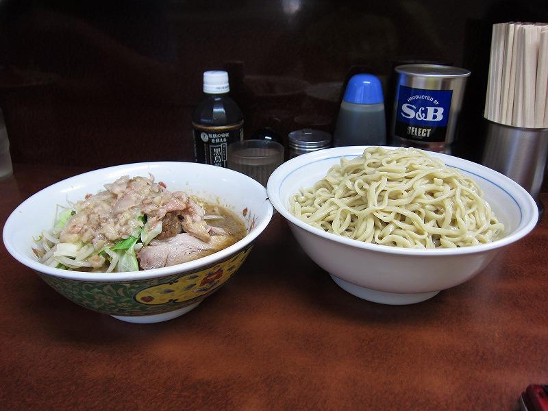 大 つけ麺   ¥800 + ¥150