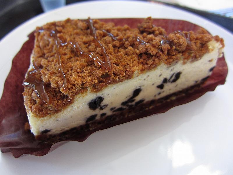 クッキー&キャラメル チーズケーキ  ¥400