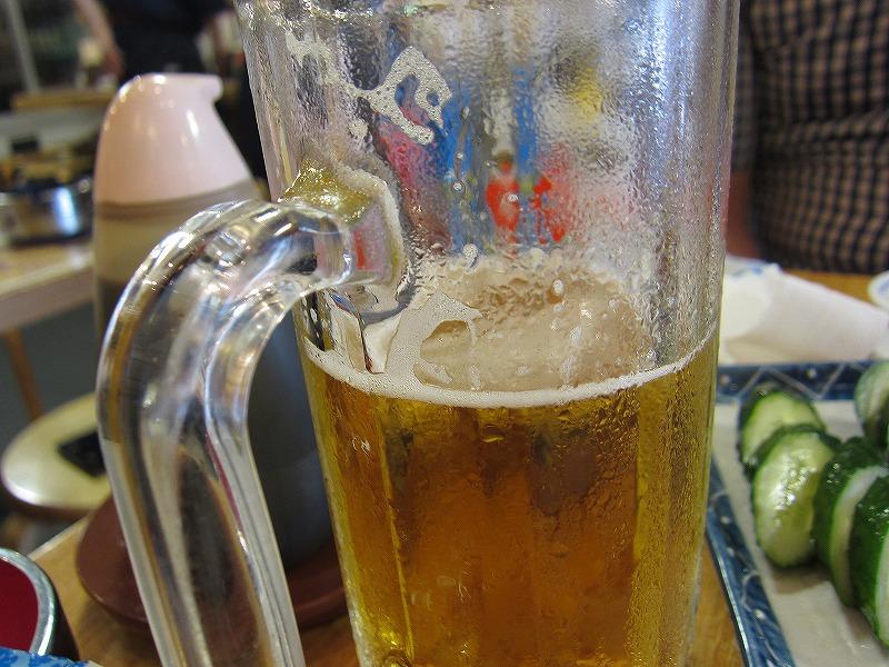 ビール美味しい♪