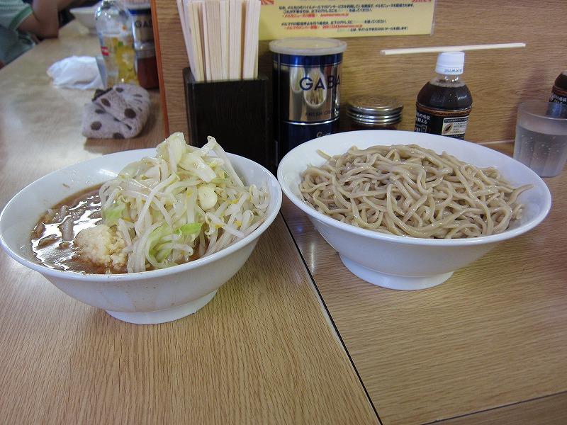 大ラーメン つけ麺   ¥750 + ¥150