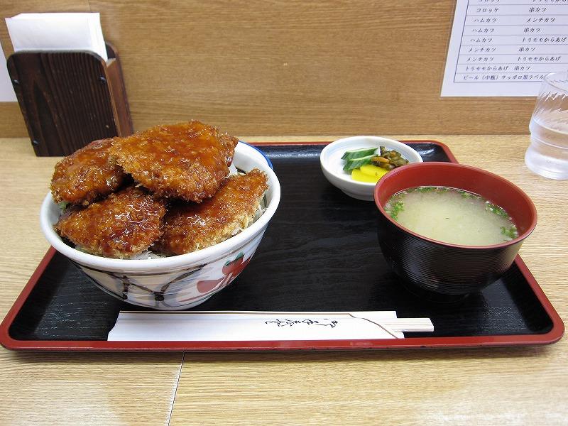 ソースカツ丼  ¥800