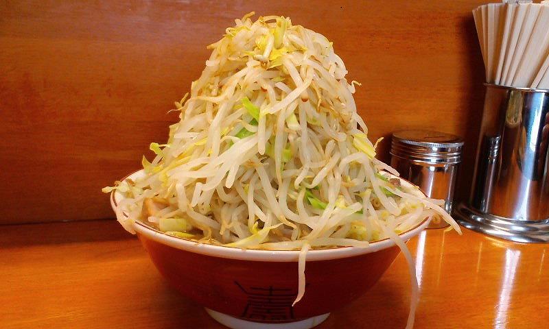 大 豚 麺カタメ