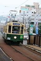 長崎の路面電車。均一120円って安い!
