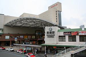 長崎駅。さすが、かなり発展してますね。