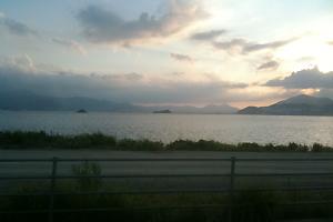 北九州空港の近くで。いい風景。