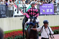 武豊は復帰戦とこの小倉記念の2鞍でした