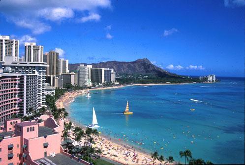 いや、ハワイ!?