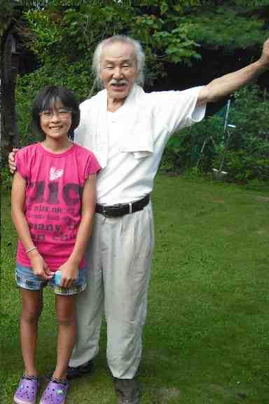 平田先生と2