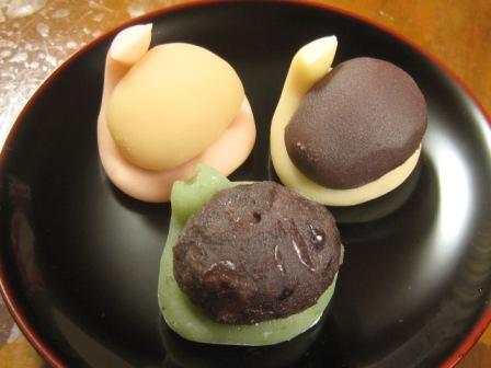 ひちぎり 鶴屋吉信  2011/3/3