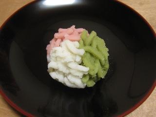 桃の里 きんとん  末富  2011/3/5