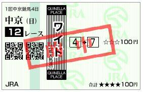 130127中京12ワイド