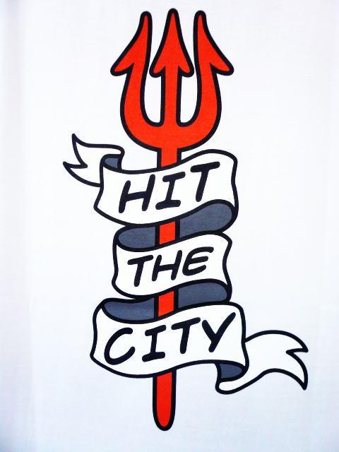 INTERFACE HIT THE CITY TEE