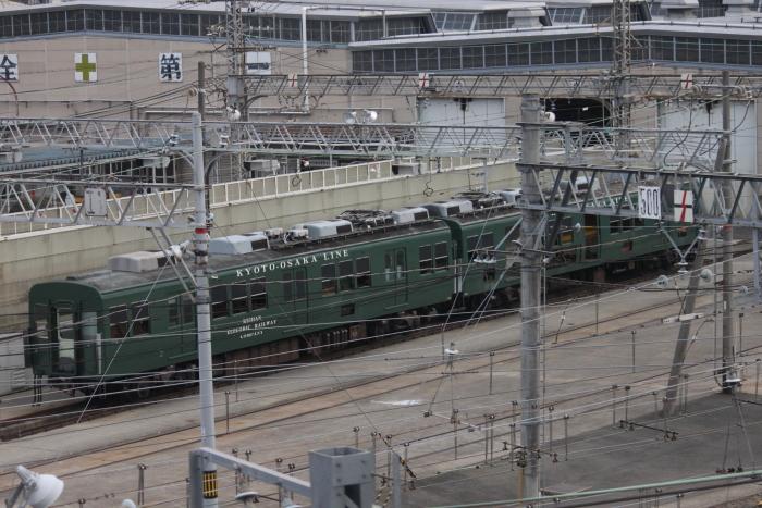 解体線に移動された2712-2812号車(2月10日撮影)