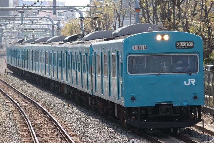 元モリKM5編成(大阪城公園)