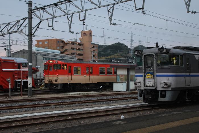 地上時代の姫路駅の再現のような光景