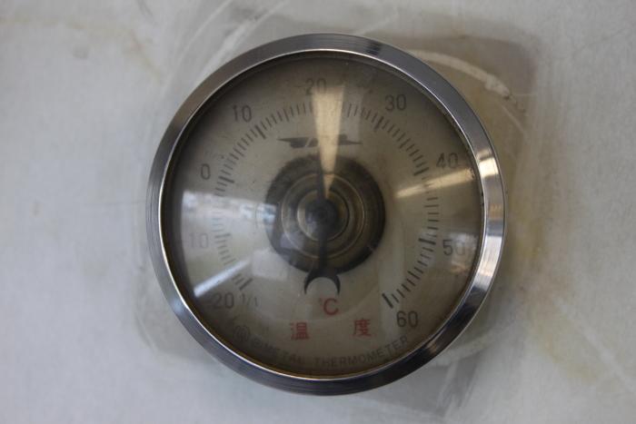 原形の車内温度計