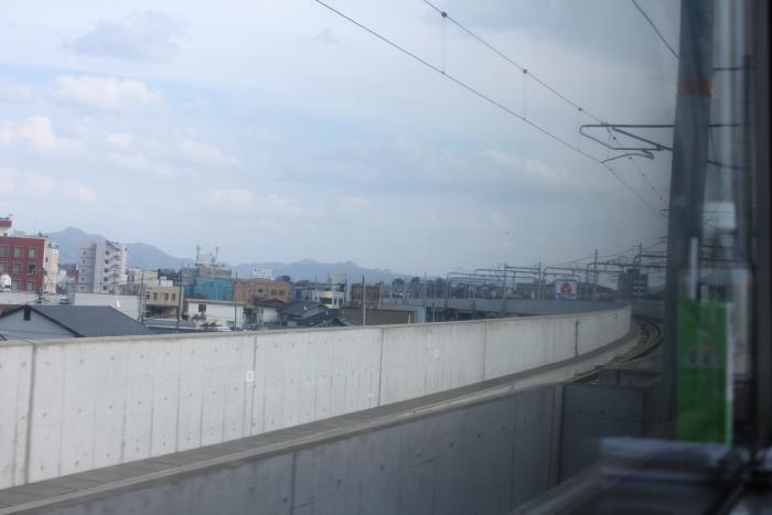 福知山駅付近の高架橋