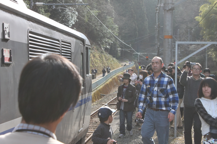 船岡駅@戦争撮影会(改札内)