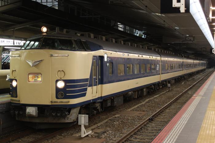 583系秋田車の甲子園臨(3/24撮影)