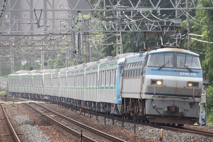 東京メトロ16000系の甲種輸送(1回目)