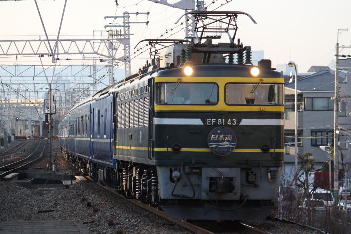 EF81-43の日本海(塚本)