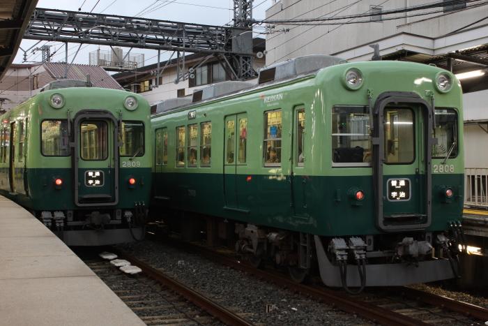 2609F(左)、混色になった2628-2808F(右)
