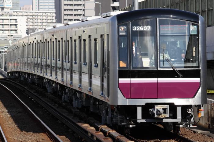 32607F公式試運転(九条/大阪港行き)