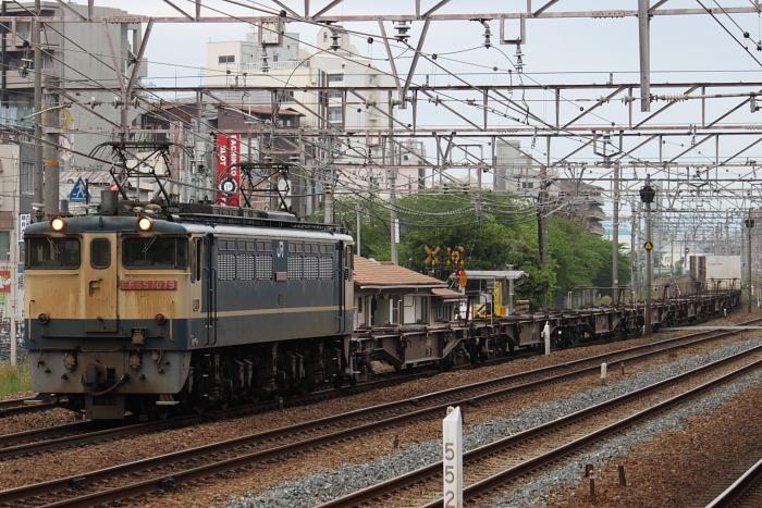 EF65-1079けん引の75レ(東淀川2)
