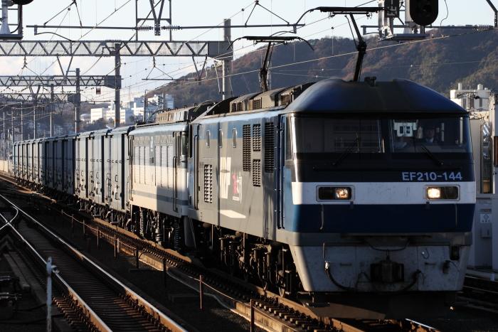 EF210-144(吹)+EF64 72(愛/無動)の3460レ(蒲郡)