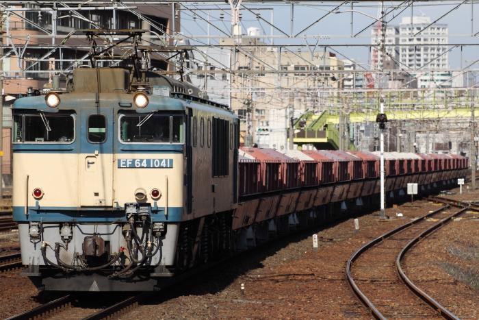 EF54 1041(愛)牽引の5380レ(熱田)