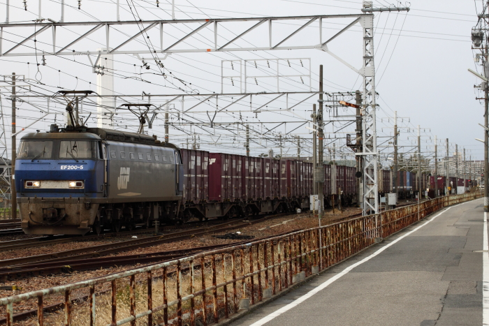 EF200-5(吹)牽引の1062レ(稲沢ー清州)